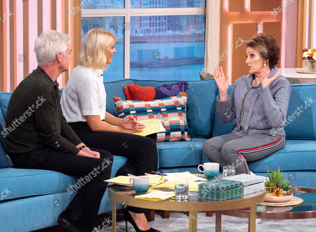 Editorial image of 'This Morning' TV show, London, UK - 01 Oct 2019