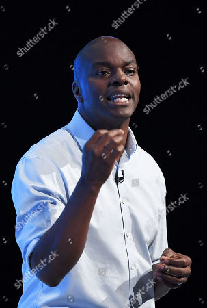 Shaun Bailey, candidate of the Conservative party for the 2020 London mayoral election, speech at the conference.