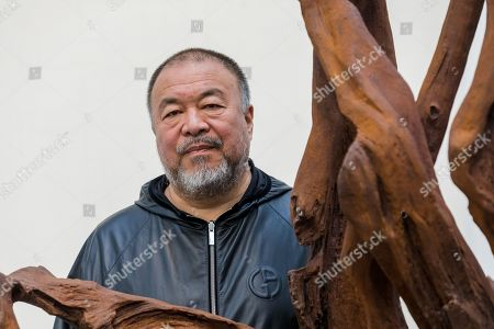 Editorial image of Chinese artist Ai Weiwei opens new exhibition Roots in London, United Kingdom - 01 Oct 2019