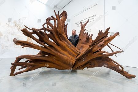 Editorial picture of Chinese artist Ai Weiwei opens new exhibition Roots in London, United Kingdom - 01 Oct 2019