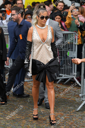 Editorial picture of Miu Miu show, Arrivals, Spring Summer 2020, Paris Fashion Week, France - 01 Oct 2019