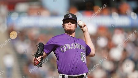 Editorial image of Rockies Giants Baseball, San Francisco, USA - 26 Sep 2019