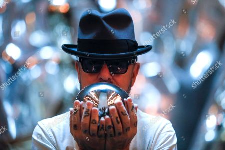 British musician David Allan ' Dave Stewart, best known for Eurythmics, poses for the photographers during the presentation of 'Ghost, The Musical' in Madrid, Spain. The musical is based on the famous movie starred by Demi Moore and Patrick Swayze.