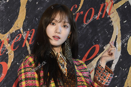 Editorial photo of Gucci '2020 Cruise Collection' Party , Seoul, South Korea - 01 Oct 2019