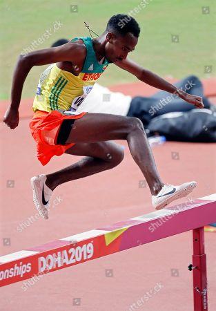 Editorial picture of Doha 2019 IAAF World Championships, Qatar - 02 Oct 2019