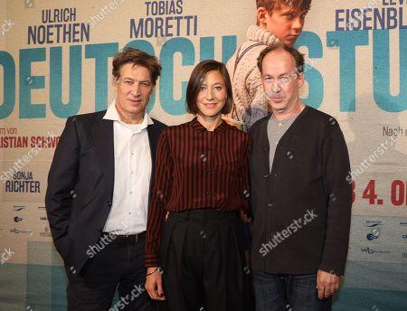 Tobias Moretti with Johanna Wokalek and Ulrich Noethen