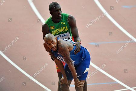 Editorial image of Athletics Worlds, Doha, Qatar - 01 Oct 2019