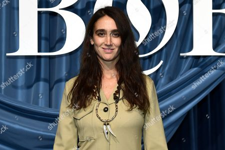 Artistic director of Chloe, Natacha Ramsay-Levi  arrives for the Business of Fashion, BoF 500 gala held at the Hotel de Ville in Paris, France, 30 September 2019 (issued 01 October 2019).