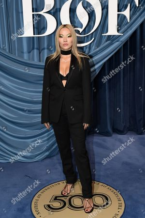 Blogger and stylist Tina Leung arrives for the Business of Fashion, BoF 500 gala held at the Hotel de Ville in Paris, France, 30 September 2019 (issued 01 October 2019).