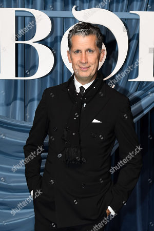 Editor of W magazine Stefano Tonchi arrives for the Business of Fashion, BoF 500 gala held at the Hotel de Ville in Paris, France, 30 September 2019 (issued 01 October 2019).