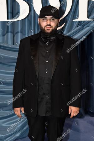 London-based designer of label Halpern Michael Halpern arrives for the Business of Fashion, BoF 500 gala held at the Hotel de Ville in Paris, France, 30 September 2019 (issued 01 October 2019).