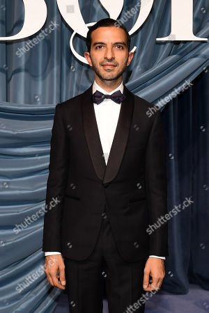 Founder and editor-in-chief of The Business of Fashion Imran Amed arrives for the Business of Fashion, BoF 500 gala held at the Hotel de Ville in Paris, France, 30 September 2019 (issued 01 October 2019).