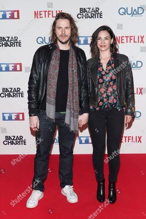 Jean-Baptiste Shelmerdine and his girlfriend