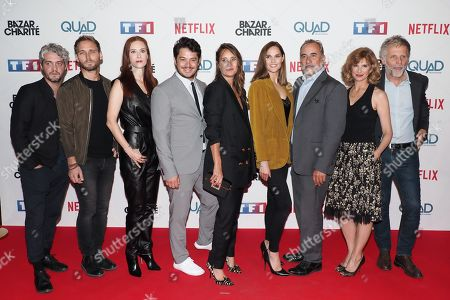 Editorial photo of 'Le Bazar de la Charite' TV show premiere, Paris, France - 30 Sep 2019