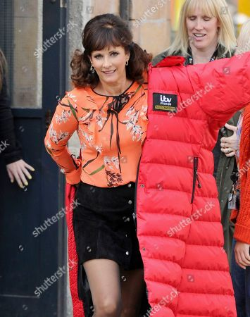 Editorial picture of 'Coronation Street' TV show, on set filming, Manchester, UK - 23 Sep 2019