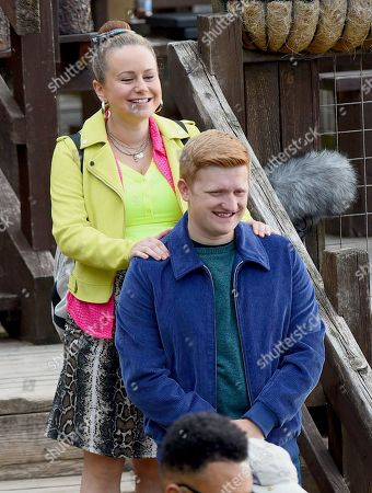 Sam Aston plays Chesney and Dolly Rose Campbell plays Gemma.