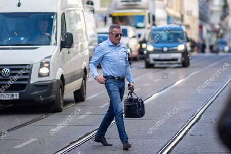 Mario Kunasek, former Austrian Defense Minister, arrives for a right-wing Austrian Freedom Party (FPOe) party meeting at a hotel in Vienna, Austria, 01 October 2019. The FPOe Party came third in the just concluded Austrian elections. A snap general election was called after secret recordings published in May of then-leader of the FPOe Heinz-Christian Strache led to the government's collapse. Strache has announced to vacate all his political functions and suspends his membership in the far-right Austrian Freedom Party.