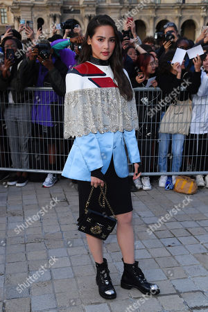 Editorial image of Louis Vuitton show, Arrivals, Spring Summer 2020, Paris Fashion Week, France - 01 Oct 2019