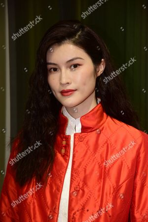 Editorial image of Shiatzy Chen show, Front Row, Spring Summer 2020, Paris Fashion Week, France - 30 Sep 2019