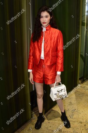 Editorial picture of Shiatzy Chen show, Front Row, Spring Summer 2020, Paris Fashion Week, France - 30 Sep 2019