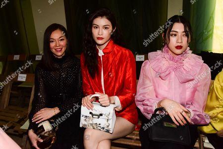 Stock Image of Sui He in the front row