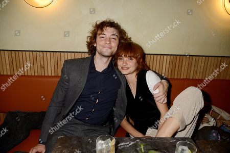 Stock Photo of Josh Whitehouse and guest