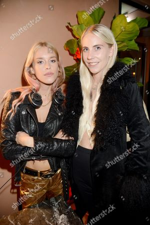 Stock Photo of Mary Charteris and India Rose James