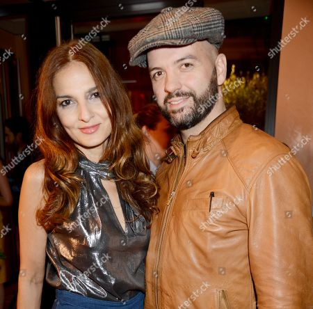 Stock Image of Yasmin Mills and Justin Horne