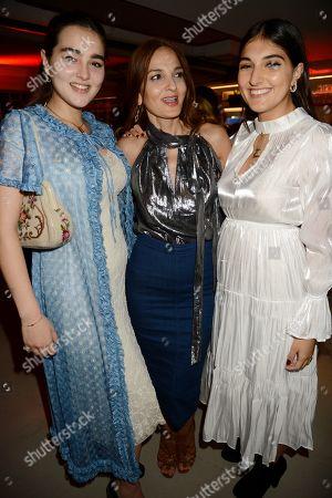 Maddie Mills, Yasmin Mills and Lauren Mills