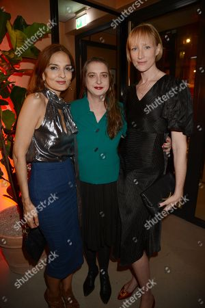 Stock Picture of Yasmin Mills, Daisy De Villeneuve and Jade Parfitt
