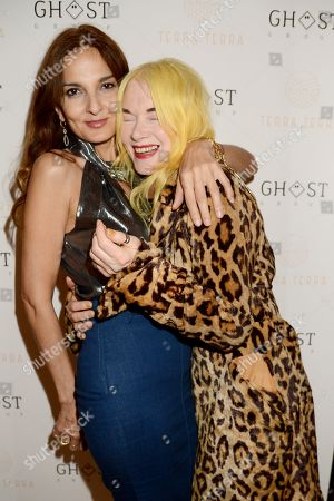 Stock Picture of Yasmin Mills and Pam Hogg