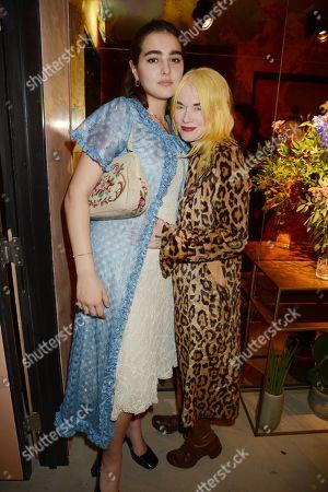 Maddie Mills and Pam Hogg