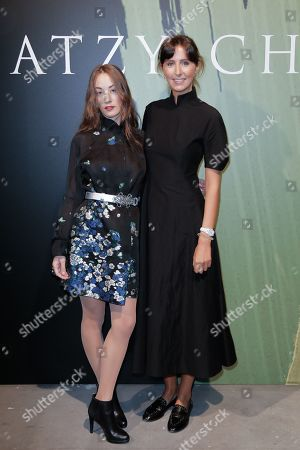 Stock Photo of Juliette Besson and Clemence Rochefort