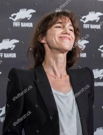 Editorial image of Charlotte Gainsbourg and Yvan Attal photocall, Festival International du Film Francophone de Namur, France - 01 Oct 2019