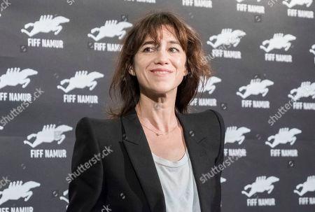 Editorial photo of Charlotte Gainsbourg and Yvan Attal photocall, Festival International du Film Francophone de Namur, France - 01 Oct 2019