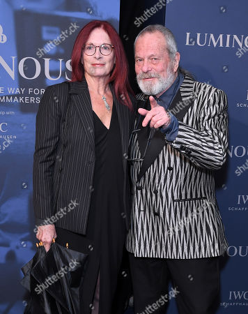 Terry Gilliam and Maggie Weston
