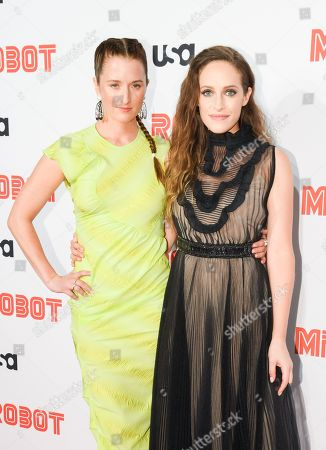 Grace Gummer and Carly Chaikin