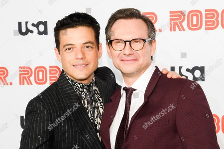 Editorial image of 'Mr. Robot' final season TV show premiere, Arrivals, Village East Cinema, New York, USA - 01 Oct 2019