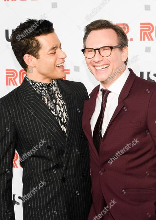 Editorial picture of 'Mr. Robot' final season TV show premiere, Arrivals, Village East Cinema, New York, USA - 01 Oct 2019