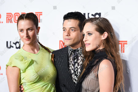 Grace Gummer, Rami Malek, and Carly Chaikin