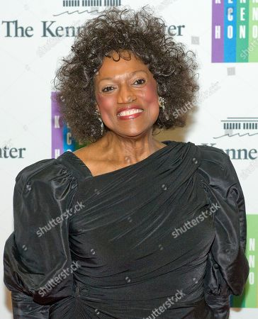 Jessye Norman arrives for the formal Artist's Dinner honoring the recipients