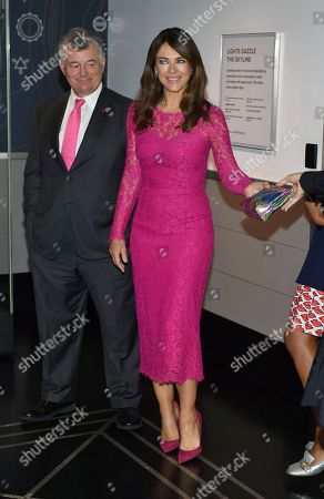 Elizabeth Hurley and William P. Lauder