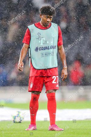 Bayern Munich defender David Alaba (27) during the Champions League match between Tottenham Hotspur and Bayern Munich at Tottenham Hotspur Stadium, London