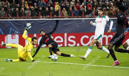 Editorial image of Lokomotiv Moscow vs Atletico Madrid, Russian Federation - 01 Oct 2019