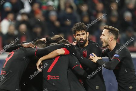 Editorial photo of Lokomotiv Moscow vs Atletico Madrid, Russian Federation - 01 Oct 2019