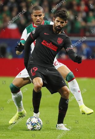 Editorial picture of Lokomotiv Moscow vs Atletico Madrid, Russian Federation - 01 Oct 2019