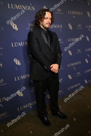 Edgar Wright arrives at Luminous BFI Fundraising Gala at the Roundhouse in London, Britain, 01 October 2019. The event aims to raise funds for the BFI's educational work to ensure young people from all backgrounds have the chance to access training and resources, and to open up opportunities to work in the film industry.
