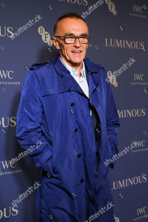 Danny Boyle arrives at Luminous BFI Fundraising Gala at the Roundhouse in London, Britain, 01 October 2019. The event aims to raise funds for the BFI's educational work to ensure young people from all backgrounds have the chance to access training and resources, and to open up opportunities to work in the film industry.