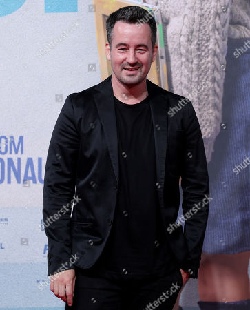 Stock Picture of Christian Schwochow attends the premiere of 'Deutschstunde' (The German Lesson) at the Lichtburg Cinema in Essen, Germany, 01 October 2019.