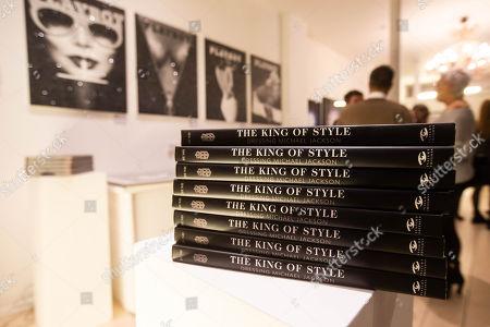 Editorial photo of Michael Bush, 'Dressing Michael Jackson' book signing, London, UK - 1st Oct 2019